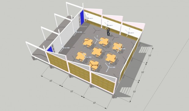 30x30 classroom