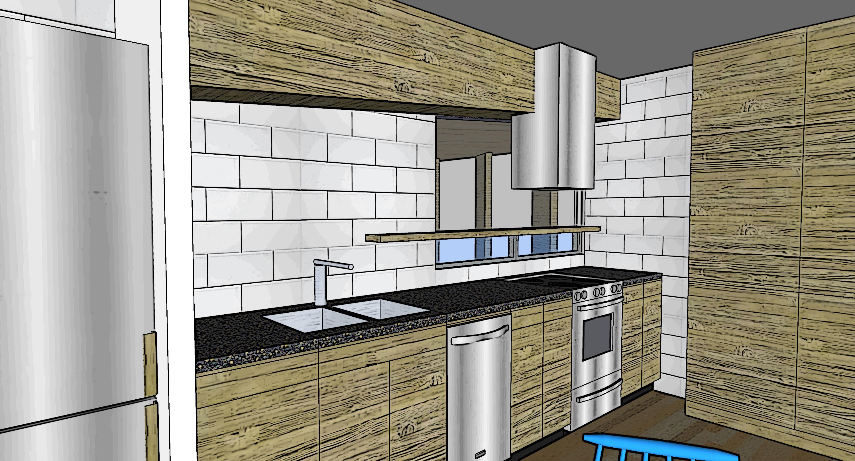 kitchen from nook
